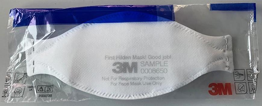 First Hilden Mask! Good Job!