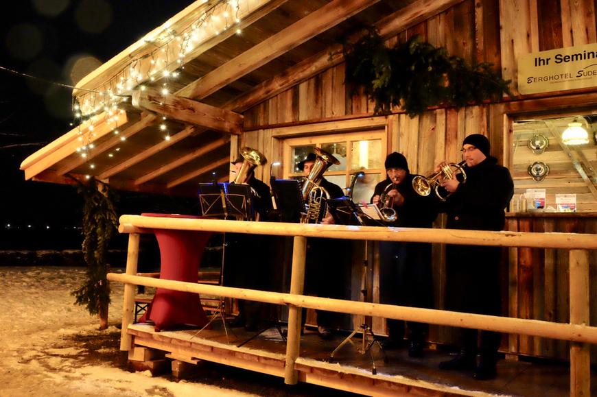 Рождественский рынок на озере Тегернзее