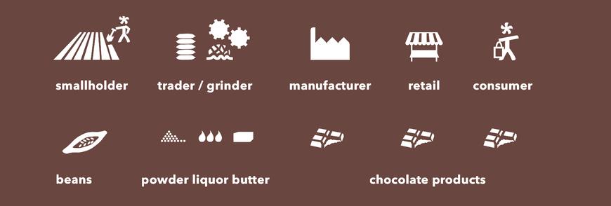 supply chain of chocolate