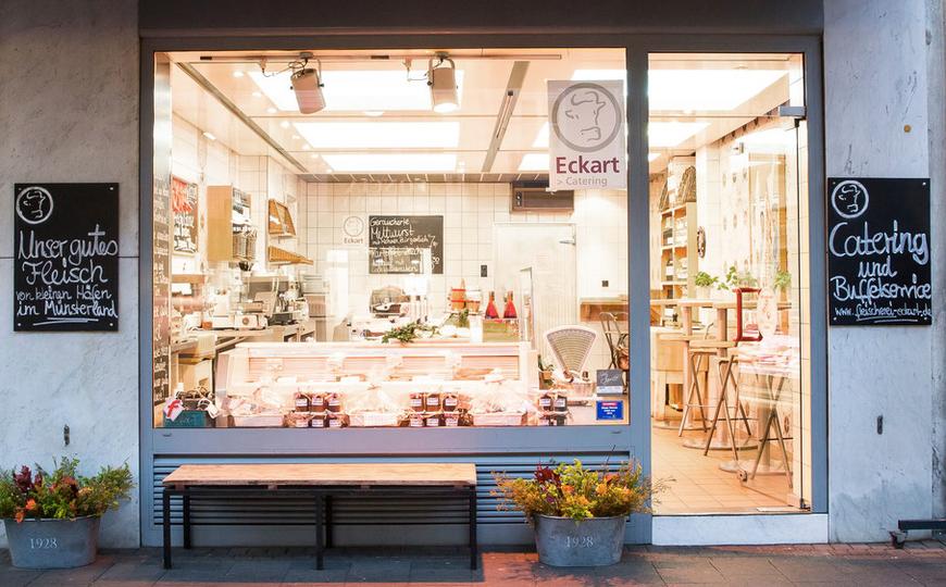 Fleischerei Eckart - Unser Laden auf der Dürenerstraße in Köln - Lindenthal