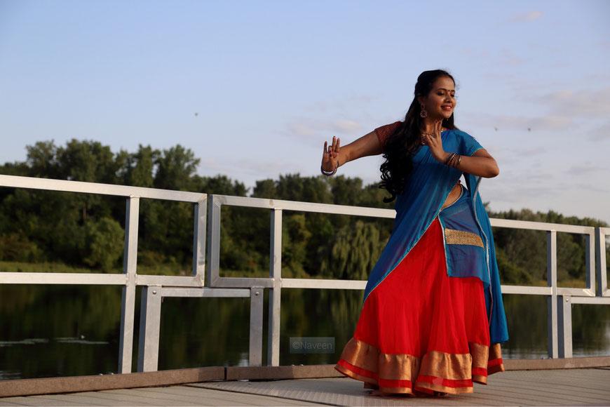 Sneha Bharadwaj: Indian Classical Dancer & Choreographer in München, Germany. Maillinger Studios