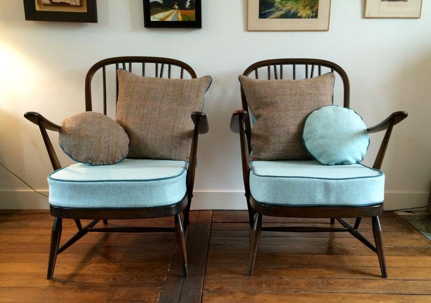 Joli, fauteuils Ercol, fauteuils à barreaux, fauteuils Windsor