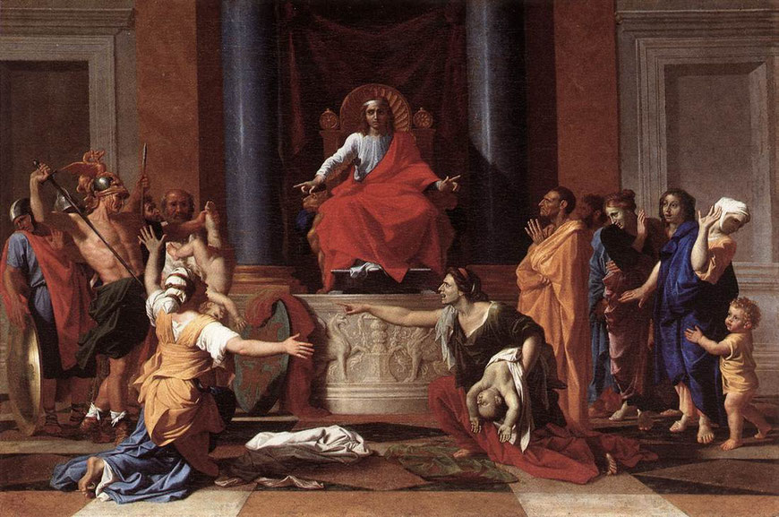 Nicolas Poussin - The Judgment of Solomon