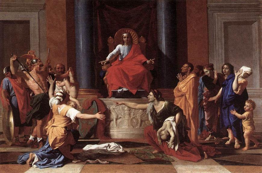 Nicolas Poussin - The Judgment of Solomon