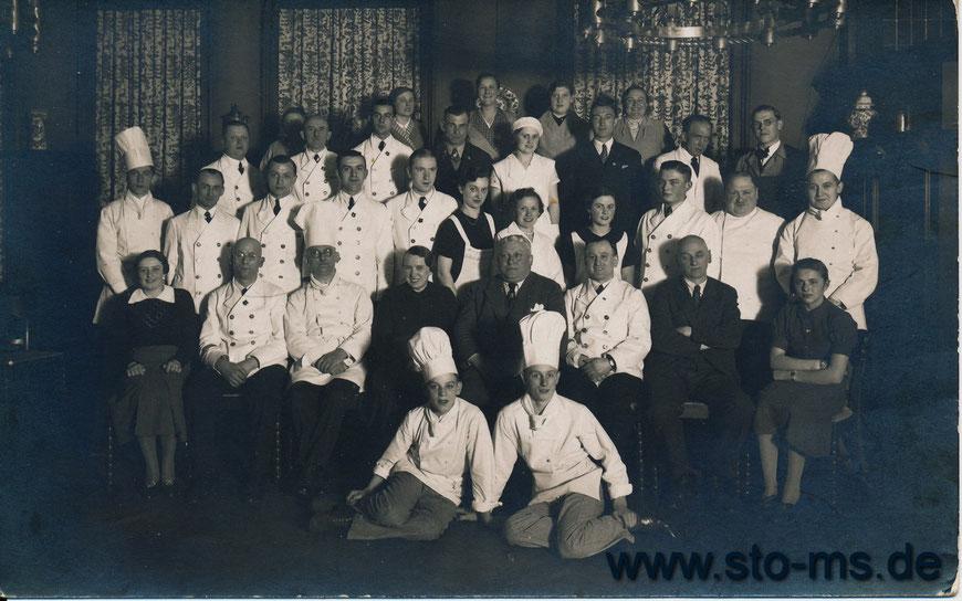 Belegschaft des Kiepenkerls 1936
