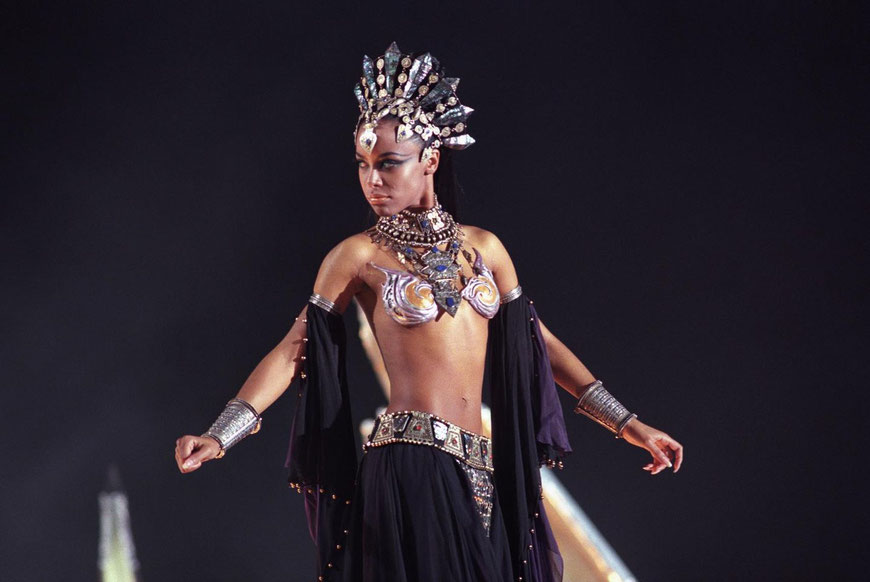 Akasha, la reina de los vampiros.