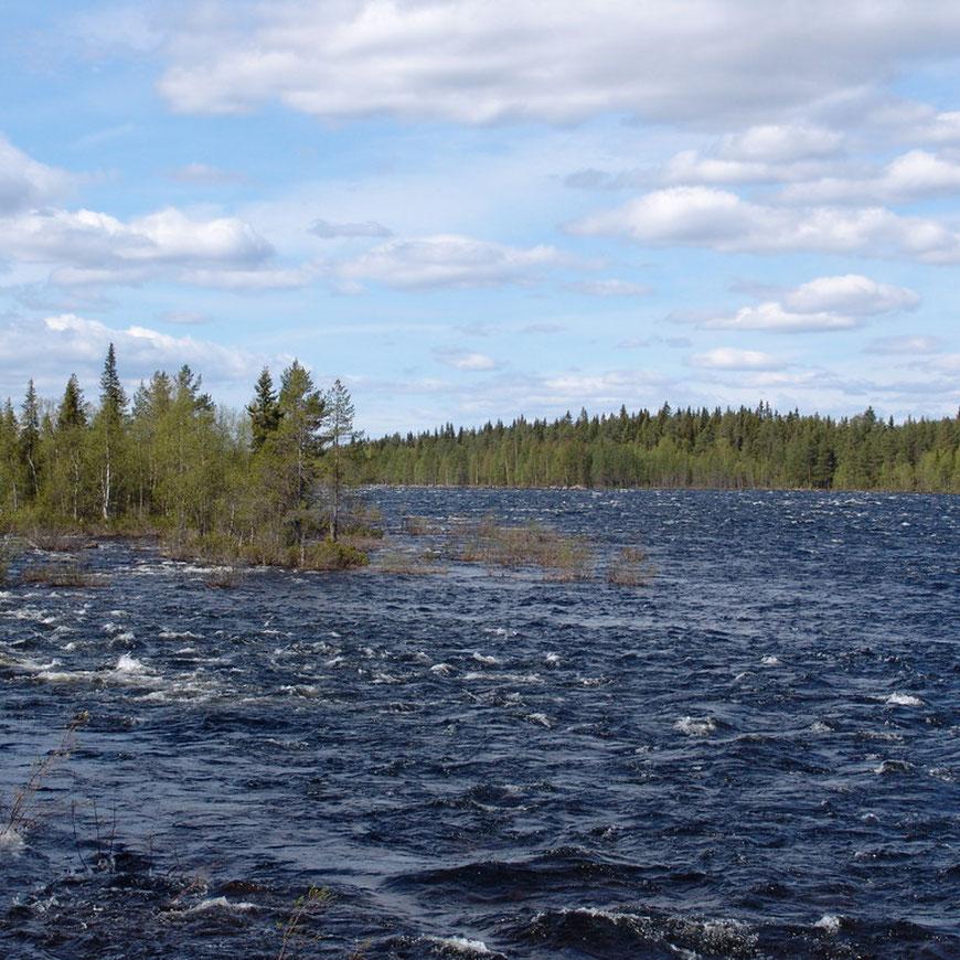 Traumhaftes und zugleich wildes Schweden