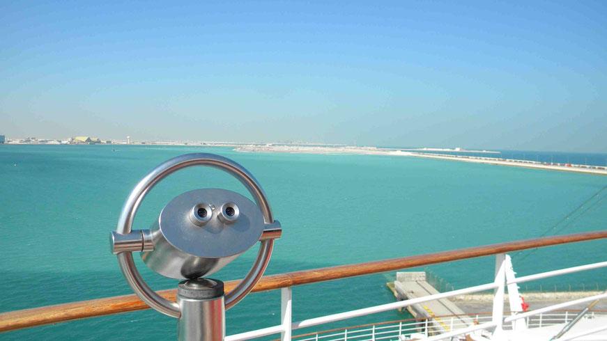 Blick vom Schiff