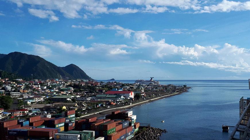 Terminal im Industriehafen