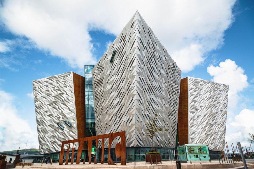 Titanic Museum, Belfast, Nordirland, Architektur, Architektonische Highlights, Architektonische Höhepunkte