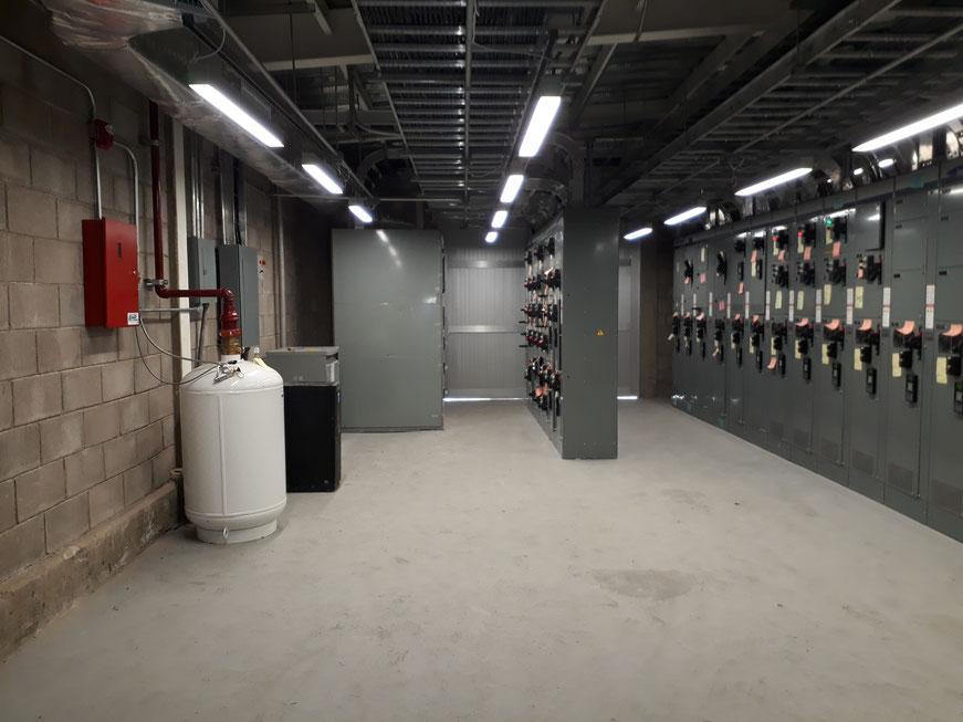 Sistema de ECARO-25 instalado en un CCM de una mina