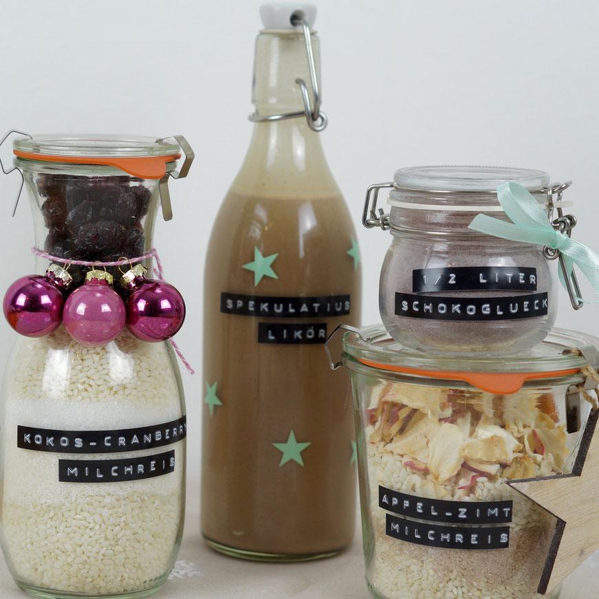 Last Minute-Geschenke aus der Küche: 2erlei Milchreis aus dem Glas ...