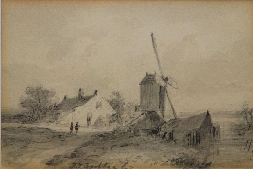 te_koop_aangeboden_een_tekening_van_de_nederlandse_kunstenaar_jan_jacob_spohler_1811-1866