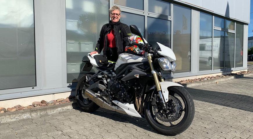 Becker-Tiemann Motorrad verbaut Wilbers Fahrwerke