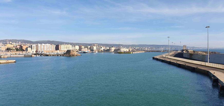 Pier in Civitavecchia