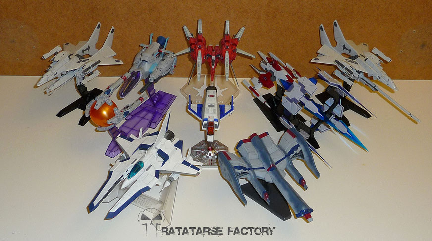 Ratatarse SHMUPS model kits