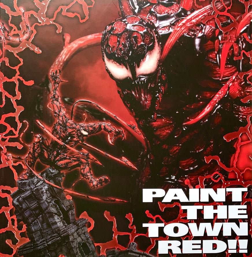 Carnage Maximum 1/6 Marvel Comics Venom Fine Art Statue Resin 60cm Kotobukiya