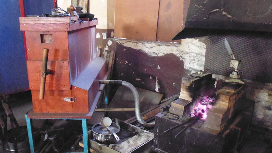 Soufflet japonais artisanal en bois