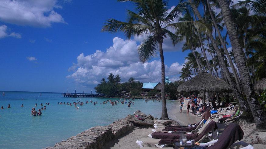 Strand in Bayahibe - Hotel Dreams La Romana