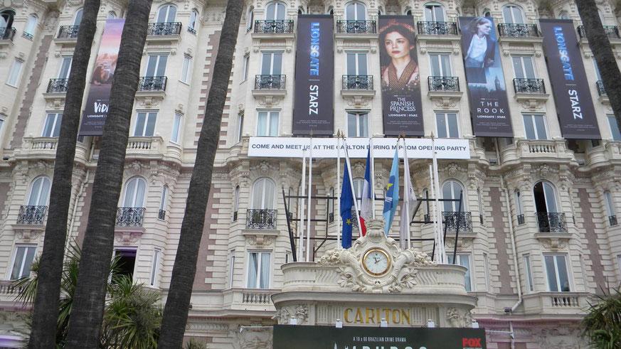 Hotel Carlton am Boulevard de la Croisette