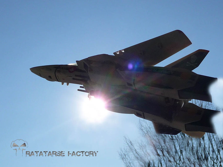 1/60 VF-1S TV Custom Roy Fokker - Ratatarse Factory