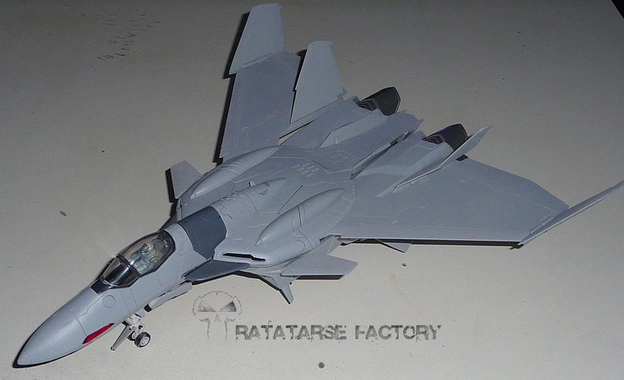 1/60 YF-0C before painting but primed - Ratatarse Factory