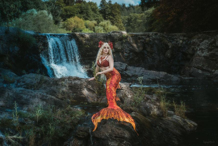 Mermaid Shooting in Siegen I Model: Maya Lou