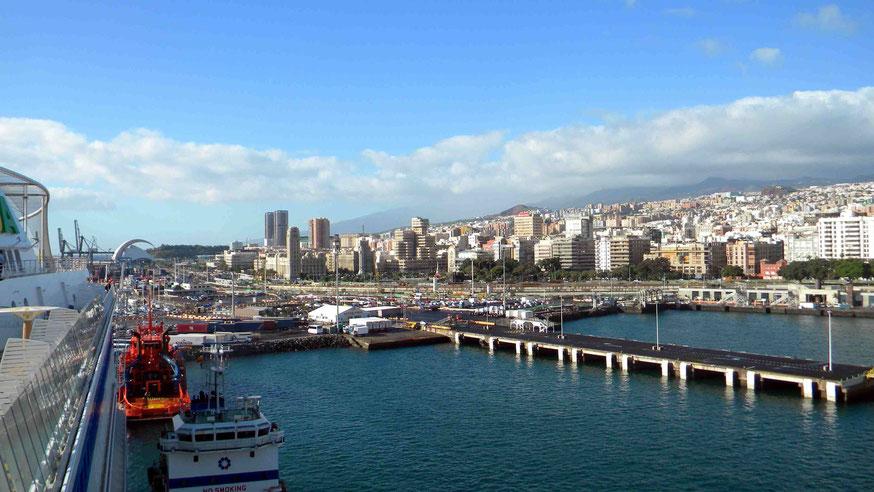 AIDAsol in Santa Cruz de Tenerife