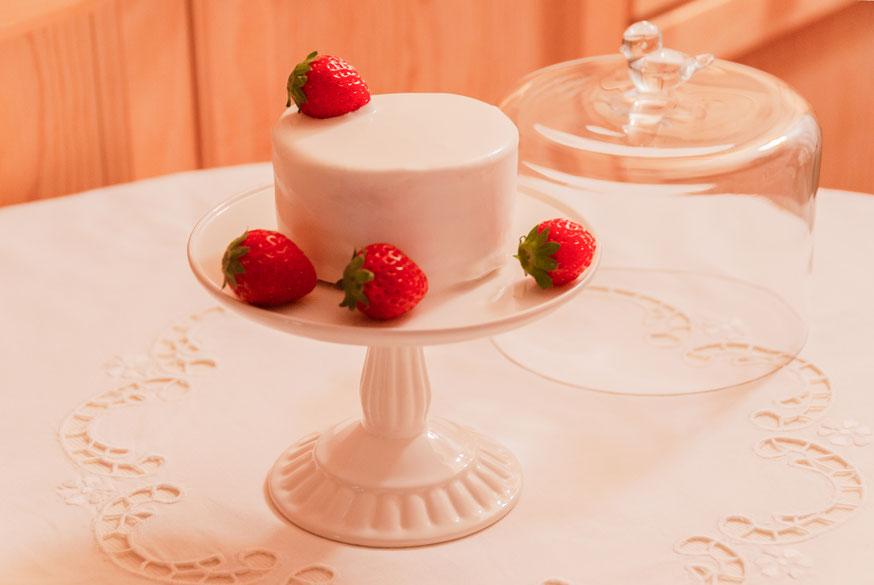 Japanese Strawberry Shortcake, 3.15inches, Fleur*Fleur*, fleurfleur