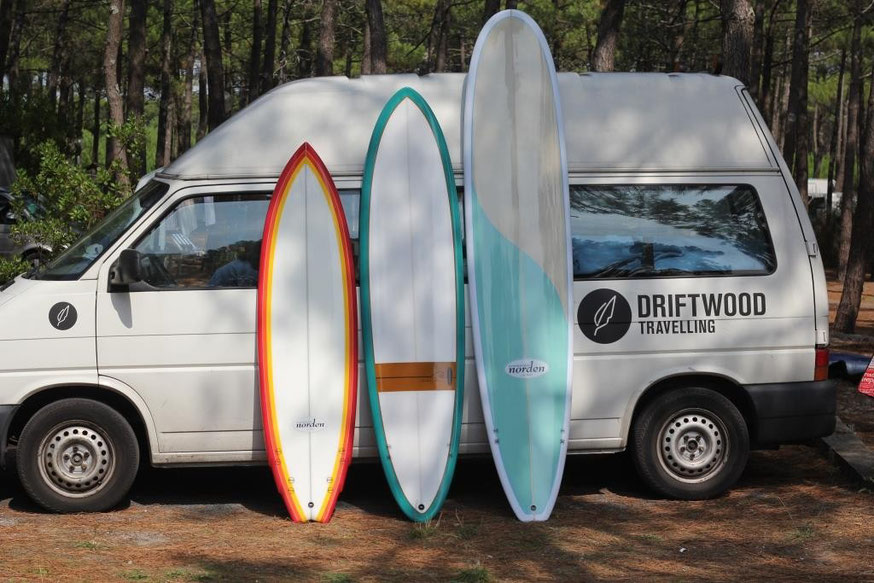 Surf- und Reise  mit NORDEN Testcenter in IRLAND, SPANIEN und COSTA RICA