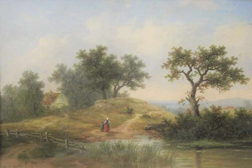 te_koop_aangeboden_een_schilderij_van_de_nederlandse_kunstschilder_hendrik_pieter_koekkoek_1843-1927