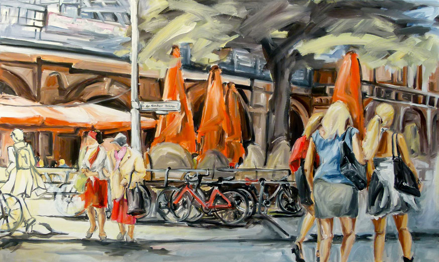 Shopping Girls Berlin / 2014 / 90 x 150 cm