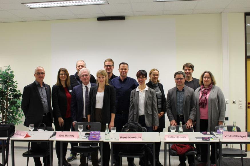 Teilnehmer*innen der Podiumsdiskussion vom 29.10.2019, Quelle: IHK
