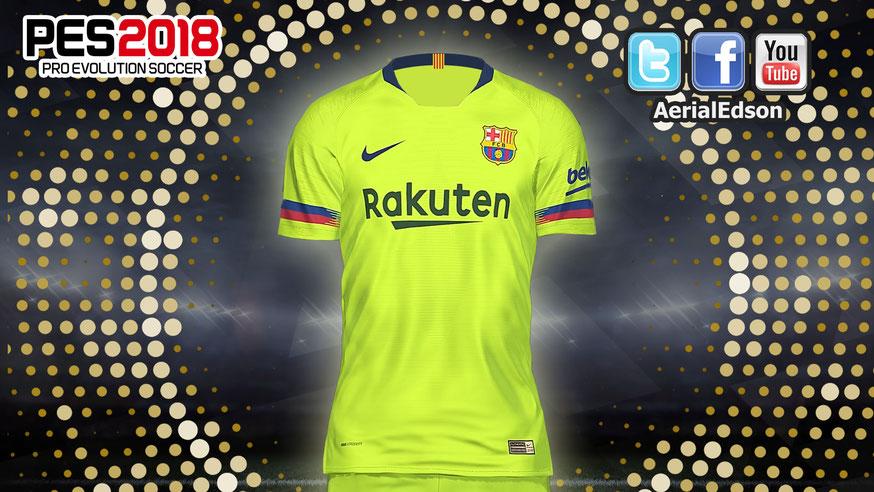 7dbf389b4 Descarga el kit visita del FC Barcelona temporada 18 19 AQUÍ