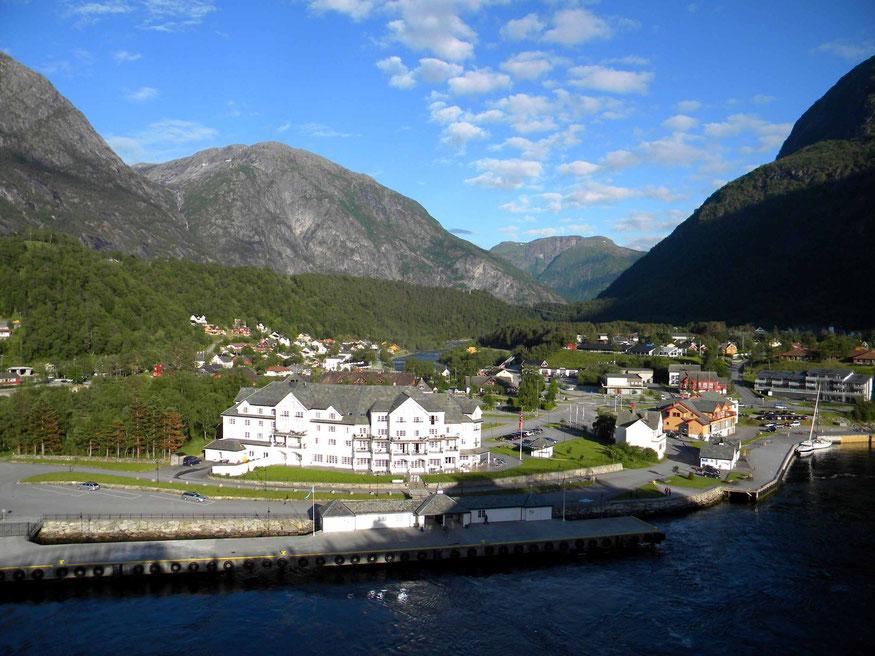 Anlegesteg in Eidfjord