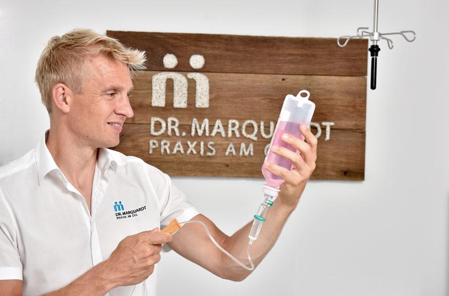 Dr. Matthias Marquardt, Eisenzentrum Hannover, Vitalstoffe wie Eisen, Vitamin B12 und Omega 3 tragen zum Wohlbefinden bei