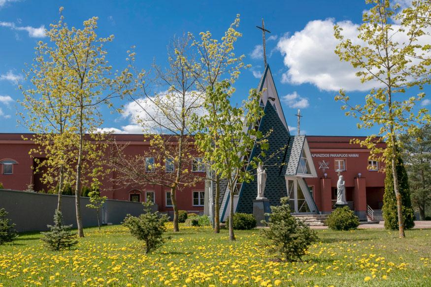 Dievo Apvaizdos koplyčia ir parapijos namai