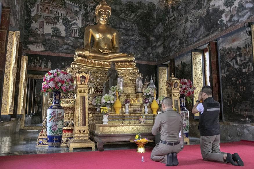 Wat Bowonniwet / Foto: Kristina Stalnionytė