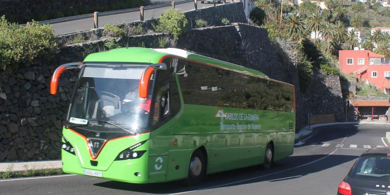 Linienbus auf La Gomera