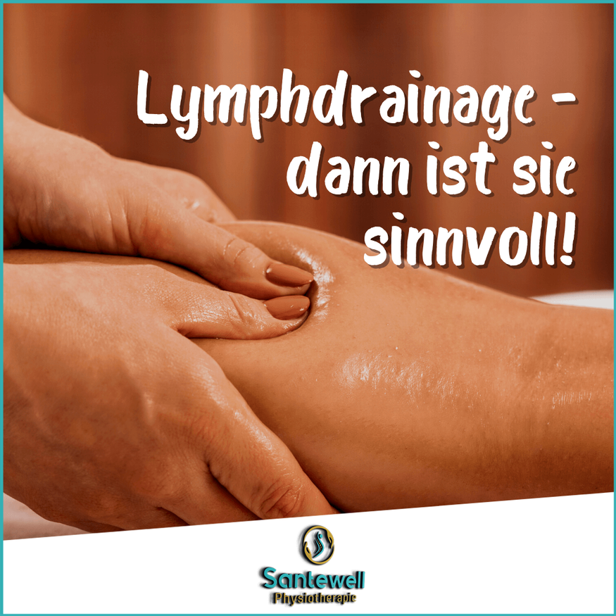 Manuelle Lymphdrainage in Basel durch erfahrene Physiotherapeuten in der Physiotherapiepraxis Santewell