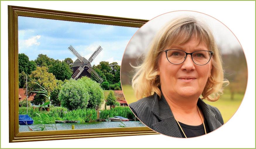 Bürgermeisterin Manuela Saß  -  Werder (Havel)