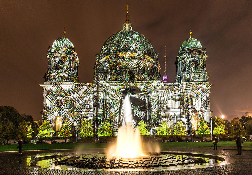 Festival of Lights Berliner Dom