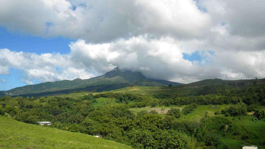 Vulkan Montagne Pelée