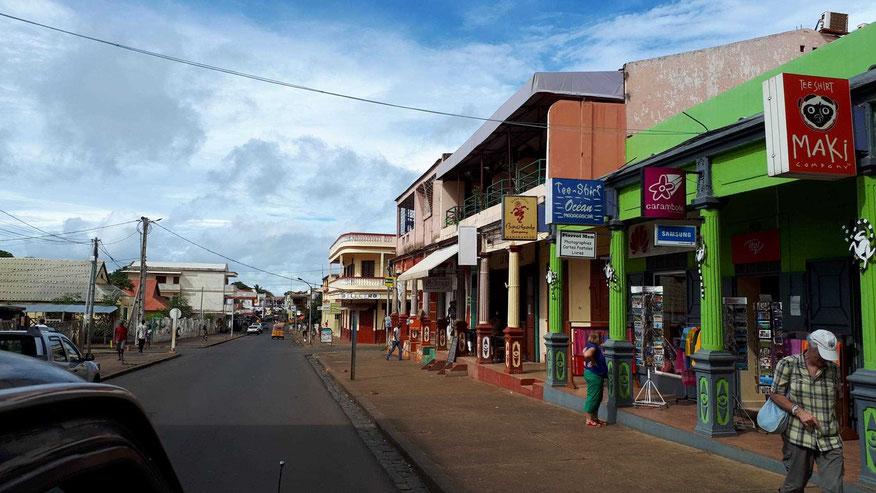 Innenstadt von Antsiranana