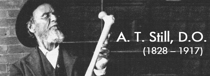 Ende des 19. Jahrhundert entwickelte Andrew Taylor Still entwickelte die heute zur Alternativmedizin gezählte Osteopathie.