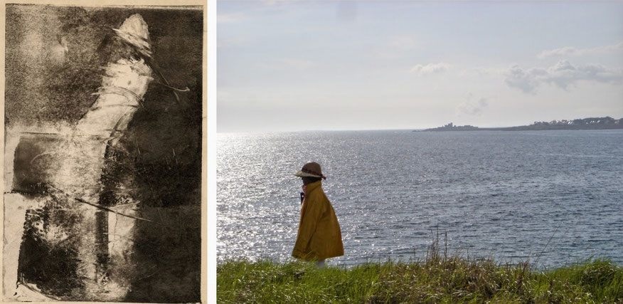 Claire Guyard-Aschehoug rencontre photographie gravure mer sea ocean