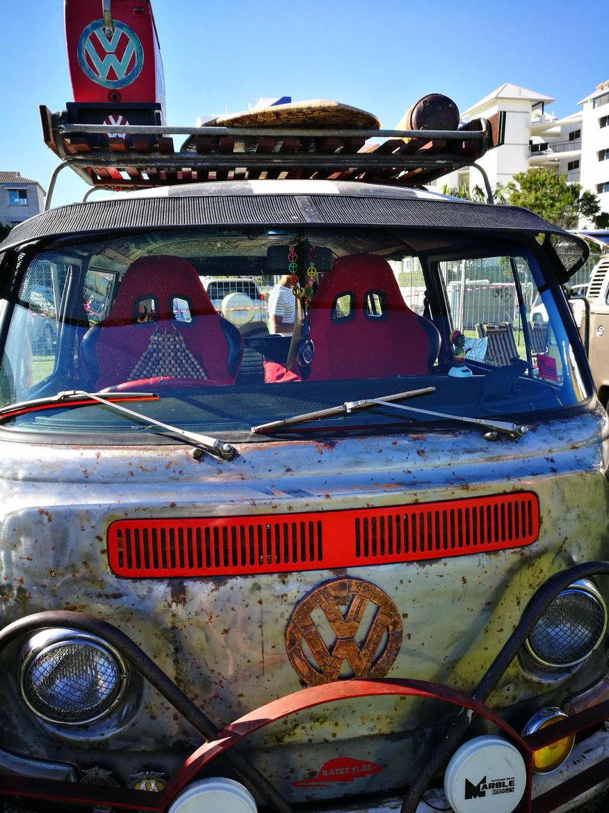 Oldtimer Campervan VW Volkswagen Bulli Camper Sunshine Coast Original, gebrauchter Bulli