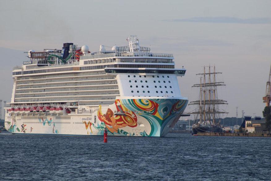 Norwegian Getaway Hanse Sail 2019