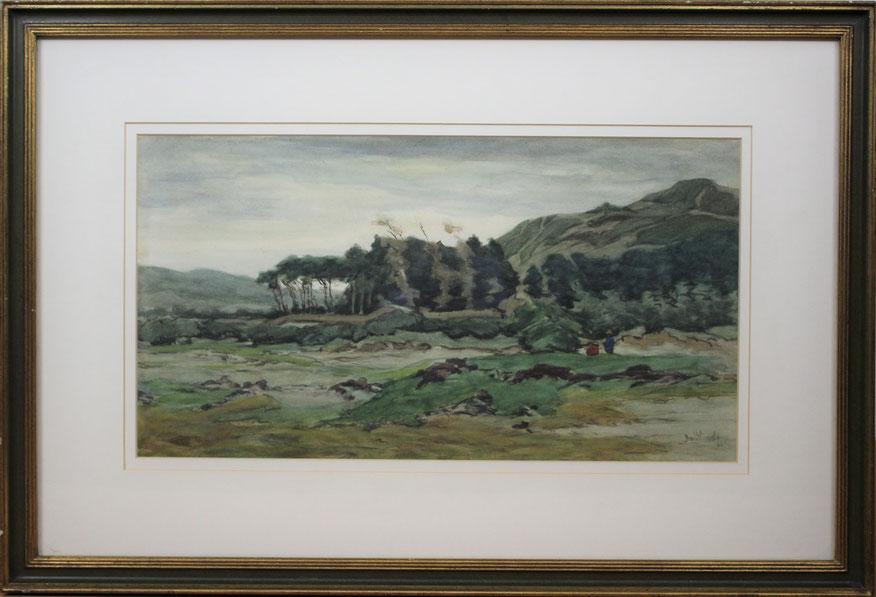 te_koop_aangeboden_een_gouache_kunstwerk_van_de_nederlandse_kunstschilder_bernard_schregel_1870-1956