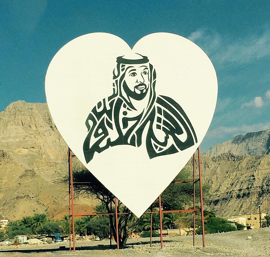 Un Cheikh en affiche aux Emirats